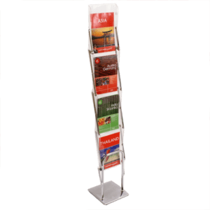 STACKER Portable Brochure Stand