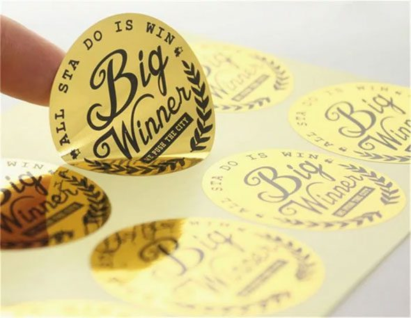Decal and Label Printing
